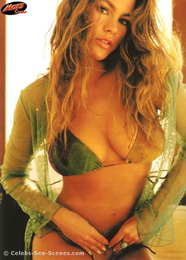 Sexy colombian model sofia vergara naked